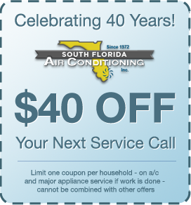 Celebrating 40 Years of Business! This coupon is valid for one household and is valued at $40. Cannot be combined with other offers